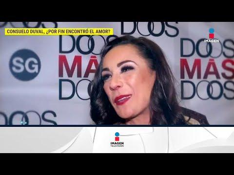 Consuelo Duval se encuentra feliz por estar con el hijo de Jorge Ortiz de Pinedo, asegura que él ya aceptó que están empezando a conocerse No te pierdas lo mejor del espectáculo de lunes...