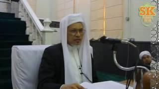 14 Julai 2016  DAURAH KITAB HIKAM  TG Baba Ismail Sepanjang Al Fathoni - Masjid Muhammadi Kot
