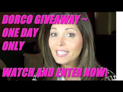 DORCO GIVEAWAY (CLOSED)~ UNEXPECTED EXCELLENT CUSTOMER SERVICE