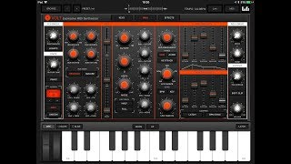 VOLT Expressive Midi Synth with FULL MPE Support - Pre Release iPad Demo