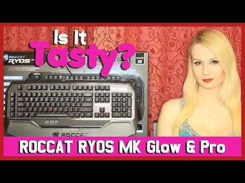 Roccat Ryos MK Glow & MK Pro Mechanical Keyboard Reviews