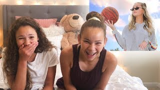 "Sierra & Olivia REACT to ""Over It"" by Ivey Meeks"