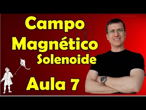 Campo magnético - Solenoide - Eletromagnetismo - Aula 7 - Prof.  Marcelo Boaro