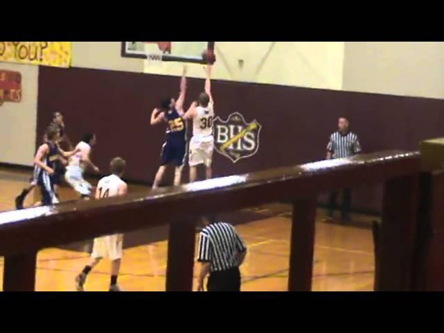 3-8-13 - Kyle Rosenbrock banks it in (Brush 25, Basalt 7)