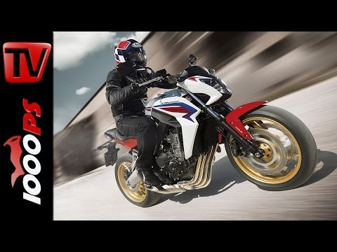 Test-Video | Honda CB650F 2014 | Action, Sound, Fazit