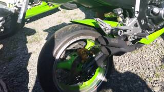Kawasaki Z vance and hines exhaust sound