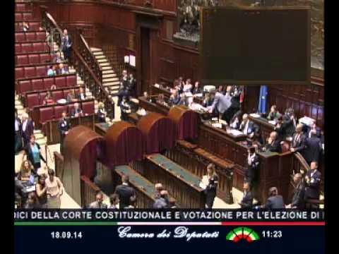 Roma - Consulta e Csm - votazione (18.09.14)