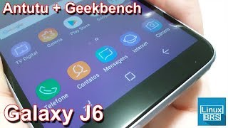 Samsung Galaxy J6 - Antutu Benchmark e Geekbench 4