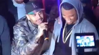 Chris Brown singing Happy Birthday to Trey Songz for 30th b-day NEW