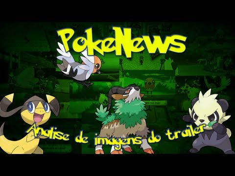 Noticias Pokemon com Kaka #7 - Sobre o Trailer e varias screenshots!!