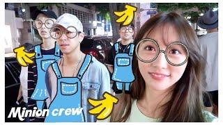Vlog#15 Shopping With The Minion Boys (ft. Jae, Alex, & Bernard)