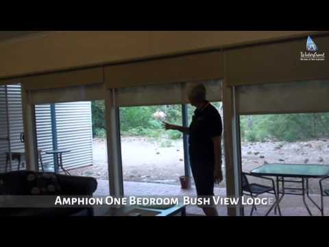 AMPHION ONE BEDROOM    BUSH VIEW LODGE   WATERFRONT RETREAT at WATTLE POINT