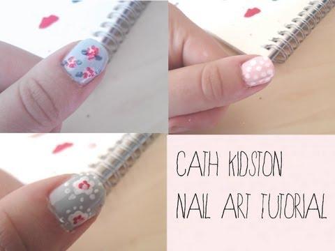 Cath Kidston Nail Art Tutorial || beautydreamaway