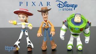 Pixar Toybox Woody, Jessie & Buzz Lightyear from Disney Store