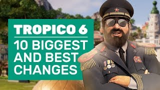 10 Biggest And Best Changes In Tropico 6 | Pirates, Palaces And A Holographic Presidente
