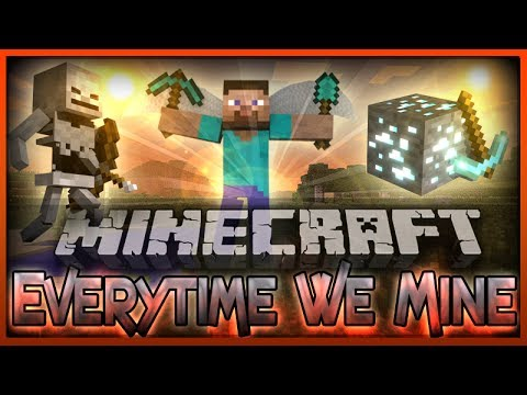 ♫everytime We Mine  - A Minecraft Parody Of Everytime We Touch By Cascada (music Video) video