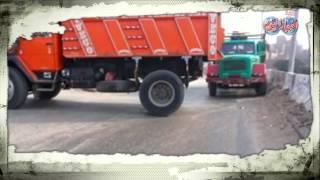 مخالفات السيارات النقل على الطريق الدائري في عز الظهر