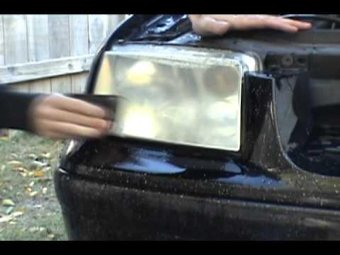 Headlight restoration VW Jetta