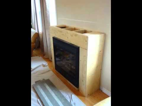 Gas Fireplace Remodeling Refacing Youtube