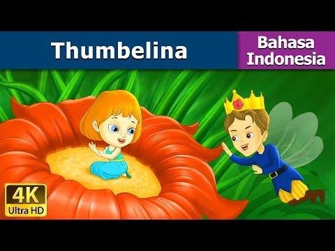 Thumbelina in Indonesian - Dongeng bahasa Indonesia - Dongeng anak - 4K UHD - Indonesian Fairy Tales