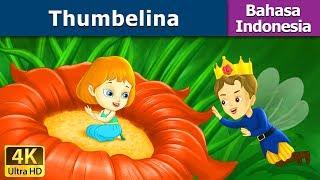 Thumbelina in Indonesian | Dongeng anak | Kartun anak | Dongeng Bahasa Indonesia