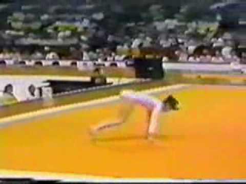 Nadia Comaneci 1976 Olympics Floor Event Finals