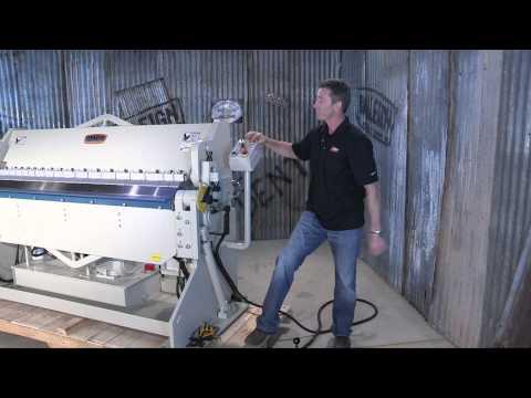 Baileigh Industrial BB-7210H Hudraulic Box and Pan Brake Sheet Metal Bending Machine