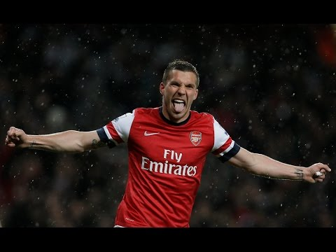 Lukas Podolski | Circles | Best Skills and Goals 2003-2014 |