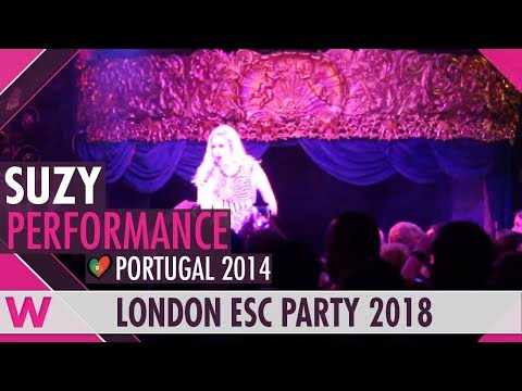 "Suzy ""Quero Ser Tua"" (Portugal 2014) LIVE @ London Eurovision Party 2018"