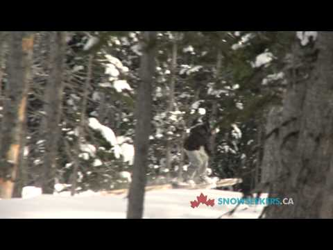 Skiing Hudson Bay Mountain in Smithers BC
