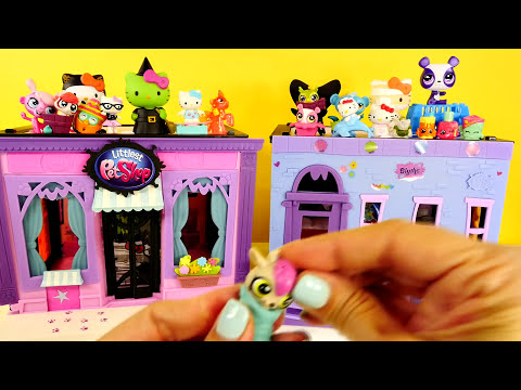 BEST 15 Play Doh Eggs LPS MLP Frozen Hello Kitty Blind Boxes Surprise Toy Bags Huevos