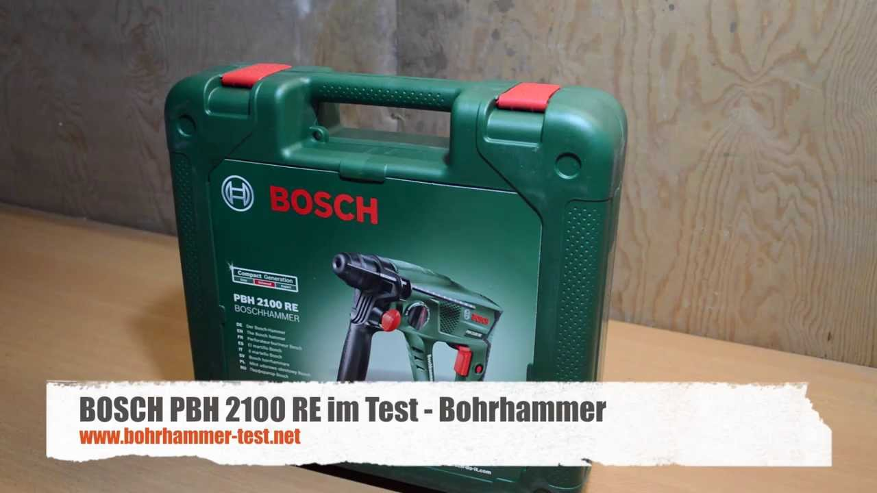 bosch pbh 2100 re bohrhammer test youtube. Black Bedroom Furniture Sets. Home Design Ideas