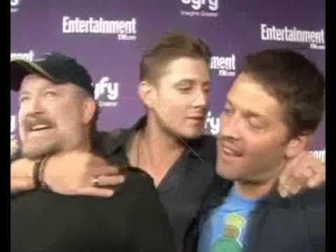 Dean and castiel kiss me supernatural
