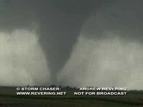 An F2 tornado zoomed in at the