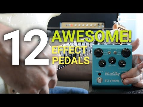 12 Awesome Guitar Effect Pedals (And 12 Awesome Songs!) - by Kfir Ochaion