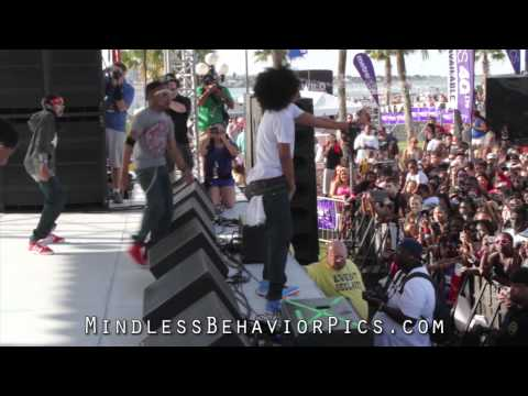 Princeton Grinding Slow Motion! BEST VIDEO! Mindless Behavior