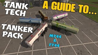 Farming Simulator 17 PS4: A Guide to... Tank Tech Tanker Pack.