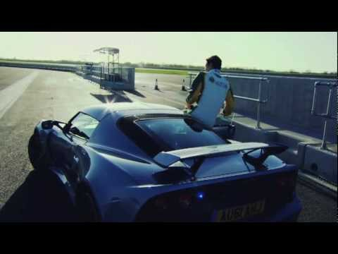 Bruno Senna takes the new Lotus Exige S for a spin.