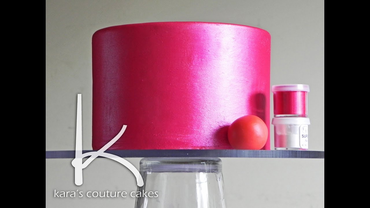 How To Make My Fondant Cake Shine