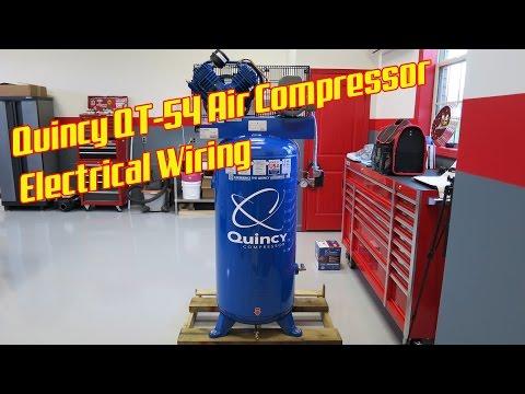 Quincy QT-54 Air Compressor Electrical