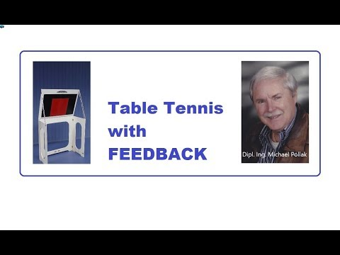 POWER Returnboard Mobile - for dynamic table tennis training