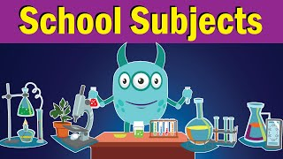 School Subjects Song | What Do You Study at School? | Fun Kids English