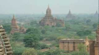 Temples in Bagan (Myanmar)