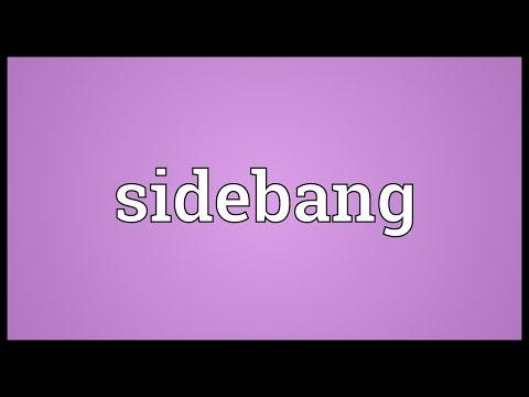 Header of sidebang