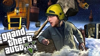 I HAVE THE HIGH GROUND NOW | GTA 5 Funny Moments (Custom Game)