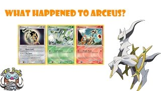 What happened to Arceus? (Pokémon Mystery)
