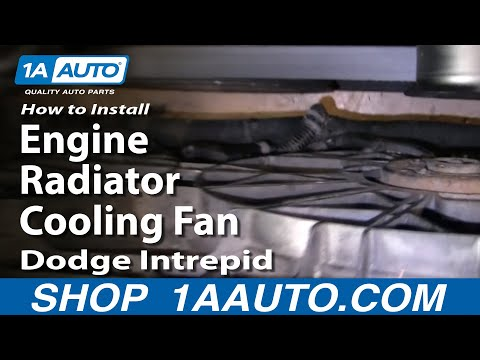 How To Install Replace Engine Radiator Cooling Fan Dodge Intrepid 93-97 1AAuto.c