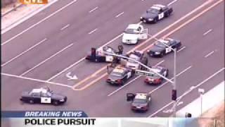 Orange County Police Pursuit Ends in Arrest