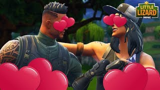 WHEN TWO NOOBS FALL IN LOVE IN FORTNITE! Fortnite Short Film