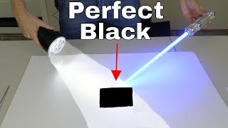 Darker Than Vantablack-Absorbs 99.9923% of Light
